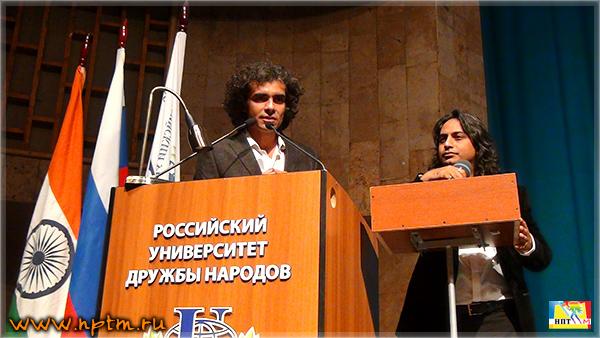 НПТМ на Фестивале индийского кино в России 2014