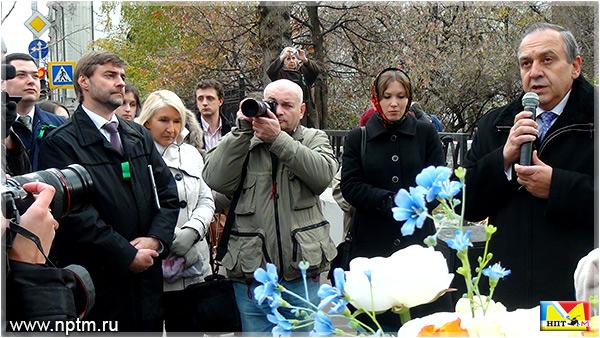 Торжественная встреча, посвященная Ивану Бунину 2013 года. Фотогалерея Марии Карпинской НПТМ