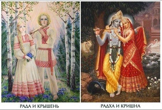 Индийские и Славянские боги.